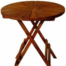 Levante Teak Wood Foldable Sun Picnic Table