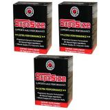 Supasize For Male Performance 60 Caps 3 Box Set Save 30 12 For Sale Online