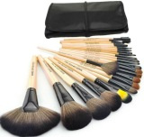 Price Superlady Professional 24Pcs Cosmetic Makeup Make Up Brush Brushes Set Kit Tools Super Soft Pouch Bag Case Beige Make Up Mall