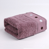 Cheap Supreme 100 Long Staple Cotton Towel Set Including 1 Bath And 1 Face Towel Purple Online