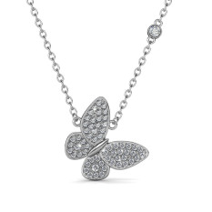 Butterfly Pendant Crystals From Swarovski ® For Sale