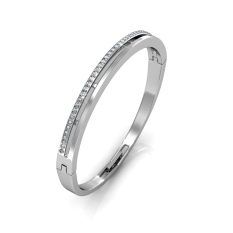 Who Sells The Cheapest Elegant Bangle White Gold Crystals From Swarovski® Online