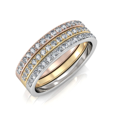 Discount Trinity Ring Crystals From Swarovski® Her Jewellery Singapore
