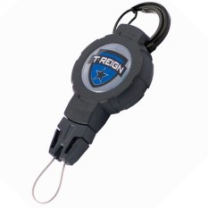 Review T Reign Retractable Gear Tether W Carabiner Medium T Reign