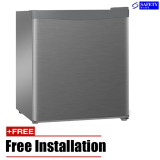 Sale Tecno 47L Mini Bar Refrigerator Tfr50 Silver Free Installation Tecno On Singapore