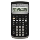 Texas Instruments Ba Ii Plus Cfa Approved Financial Calculator Review