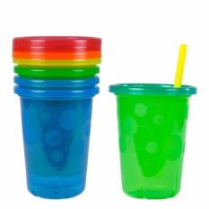 Discount The First Years Take Toss Spill Proof Straw Cups 10Oz 300Ml 4 Pack