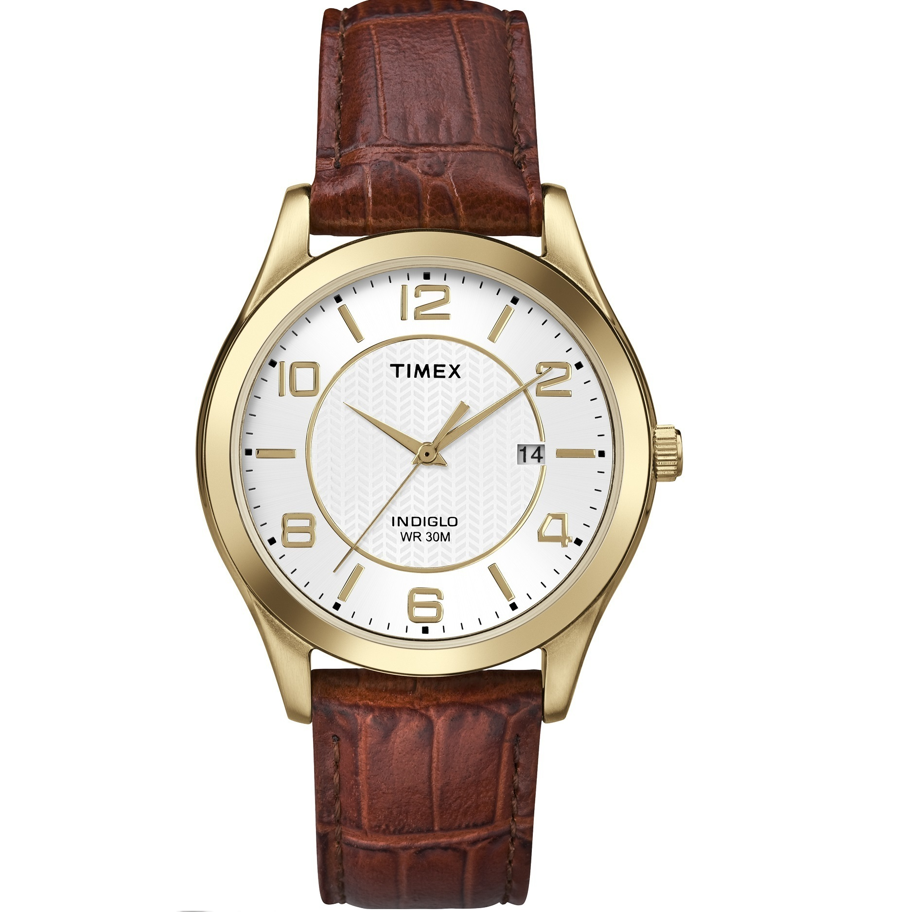 Timex Grand Street Brown Leather Strap T2P449 Discount Code