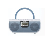 Store Toshiba Ty Cwu11L Portable Cd Usb Radio With Bluetooth Blue Toshiba On Singapore