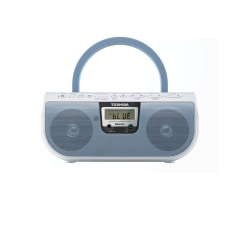 List Price Toshiba Ty Cwu11L Portable Cd Usb Radio With Bluetooth Blue Toshiba