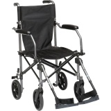 Review Travelite Lightweight Portable Foldable Transport Wheelchair With Bag Drive Medical On Singapore