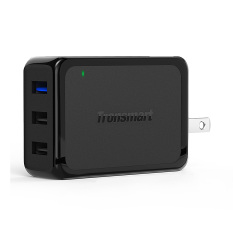 Latest Tronsmart Quick Charge 3 Usb Wall Travel Charger 42W 1 And 2 Voltiq Ports Quick Charge Port Compatible With Quick Charge 2