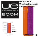 Cheap Ue Boom 2 Tropical Wireless Mobile Bluetooth Speaker Waterproof And Shockproof Purple