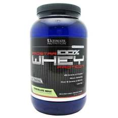 Ultimate Nutrition Prostar 100 Whey Protein Chocolate Mint 2 Lbs With Free Gift Lowest Price