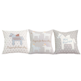 Buy Blmg Unicorn Cushion Cover Set Free Delivery Online Singapore