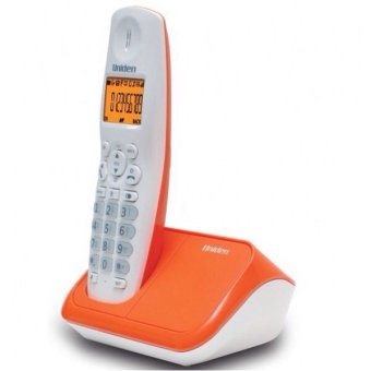 Uniden AT4101Cordless Telephone With Call Waiting Caller IDSpeakerphone Single Handset (ORANGE)(Export)