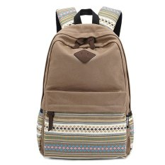 How To Get Unisex Canvas Sch**l Backpack Khaki