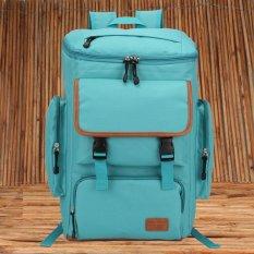 Sale Unisex Messenger Shoulder Bag Big Backpack Travel Bag Mint Not Specified On Singapore