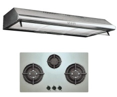 Review Uno Up1090C Stainless Steel Slim Line Hood Up7088Tr Stainless Steel 3 Burner 1Yr Warranty Uno