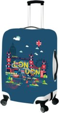 Ut London Landmark Luggage Cover Ulc5939 Blue Medium Universal Traveller Discount