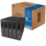 Best Buy Vantec Ez Swap 3 5 Mobile Rack 5 Bay