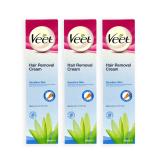 Coupon Pack Of 3 Veet Hair Removal Cream For Sensitive Skin 200Ml 0169