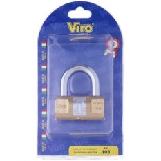 Viro 103 Bp Rectangular Padlock 60Mm Best Price