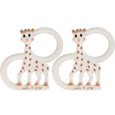 Sophie La Giraffe Sopure Twin Teething Ring By Babybrands Asia.