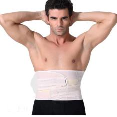 Buy Waist Slimming Belt Unisex Tummy Shaper Waist Wrap Body Shape Wear Beige Online