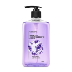 Watsons Lavender & Chamomile Scented Hand Soap 500ml By Watsons.