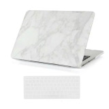Welink 3 In 1 Apple Macbook Pro With Retina 13 Case Marble Pattern Hard Case Anti Dust Plug Keyboard Cover For Apple Macbook Pro With Retina 13 White Free Shipping