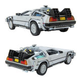 Welly 1 24 Back To The Future Delorean Time Machine Die Cast Metla Toy Model Car Review