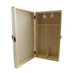 Best Price Wine Box 25X19X10Cm For 2 Bottle