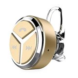 Wireless Bluetooth 4 1 Earpiece Ultrasmall Earphone With Mic Gold Compare Prices
