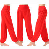 Buy Women Harem Yoga Pant Bloomers Belly Dance Comfy Loose Wide Trousers Cheap China