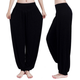 Low Cost Women Harem Yoga Pant Bloomers Belly Dance Comfy Loose Wide Trousers