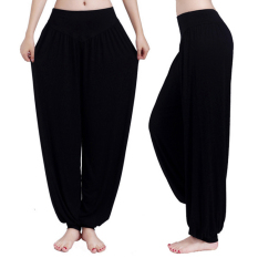 Buy Women Harem Yoga Pant Bloomers Belly Dance Comfy Loose Wide Trousers China