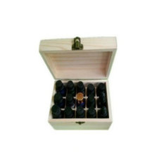 Discounted Wooden Storage Box For Essential Oil Or Jewellery 15 Slot