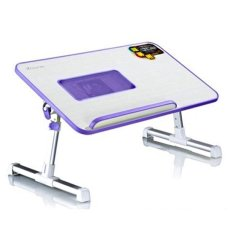 Xgear A8 Foldable Portable Laptop Notebook Desk Bed Table Stand Fan Cheap