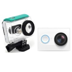 Sale Xiaomi Yi Action Camera White With Waterproof Case