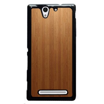 YM Wool Door Background Phone Shells for Sony L36H (Multicolor)