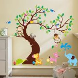 Discount Zooyoo Removable Tree Art Mural Vinyl Sticker Wall Decal 1214 Export Singapore
