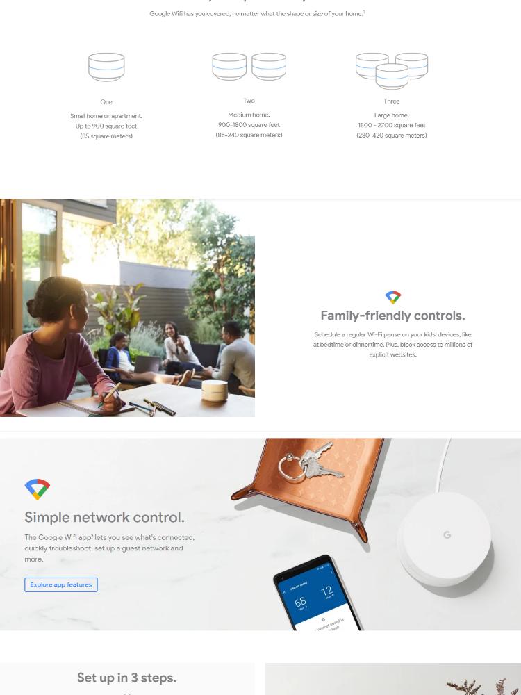 (Local) Google Wi-Fi (Single Wifi Unit)