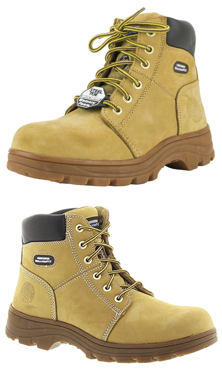 skechers composite work boots