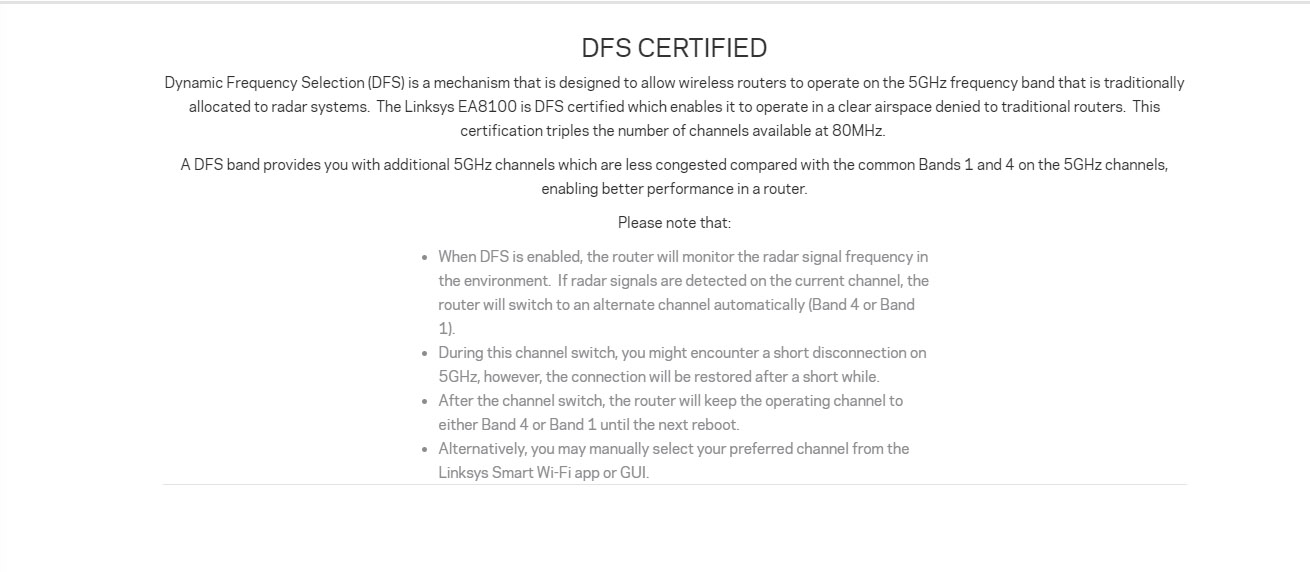 Details about (Local) Linksys EA8100-AH Max-Stream™ AC2600 MU-MIMO Gigabit  WiFi Router (DFS Su