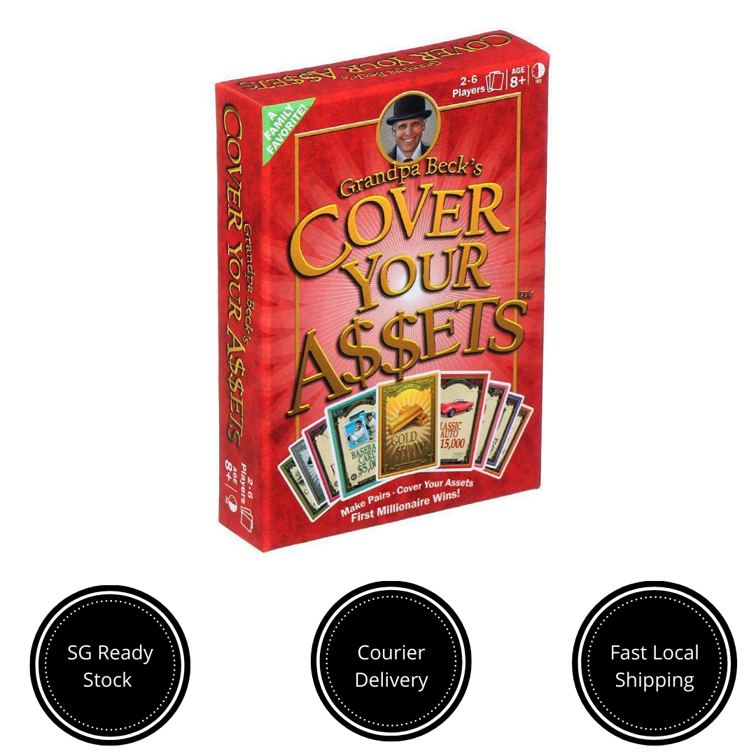 Grandpa Beck S Cover Your Assets Card Game Lazada Singapore