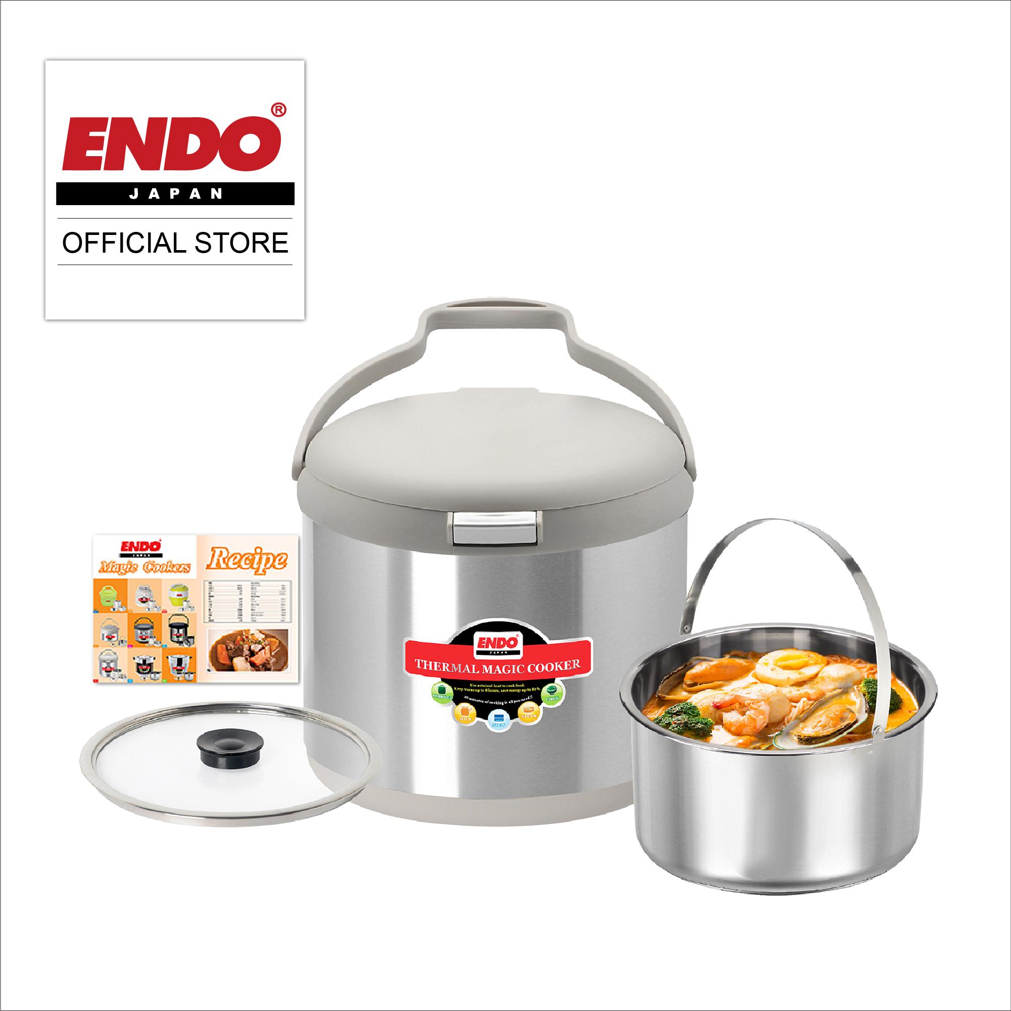 endo cookware japan tmc3 lazada 5l thermal cooker singapore magic pan