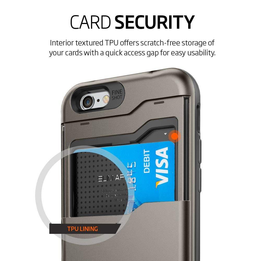 new styles 0b8cf 851db Spigen iPhone 6 / 6s Case Slim Armor CS (Card Slide) Series