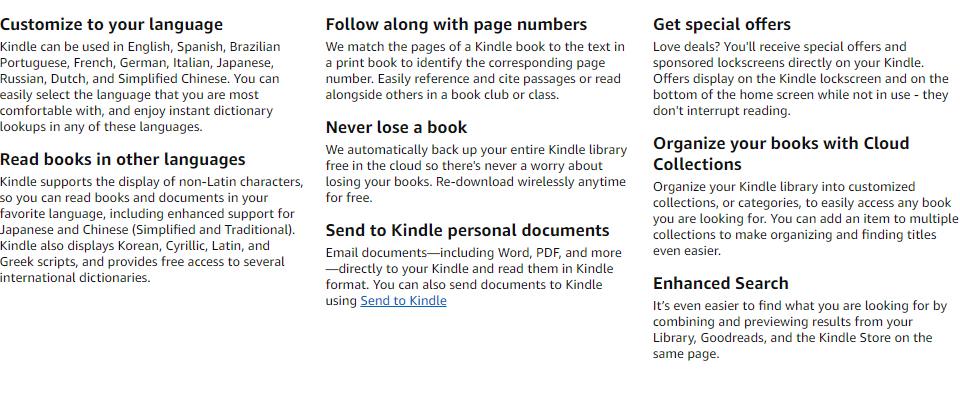 Amazon Kindle Oasis E-reader (9th Gen) 7in 300ppi, 8GB/32GB
