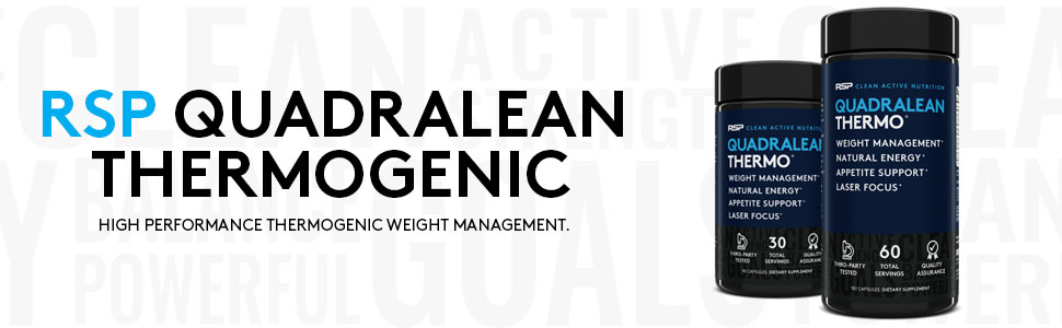QUADRALEAN THERMO COMPLETE THERMOGENIC WEIGHT LOSS, ENERGY, AND FOCUS